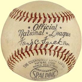 1944 1946 Spalding Onl Baseball