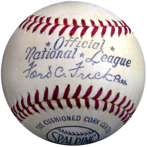 official national league baseball dating guide