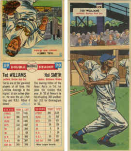 1955 Topps Double Headers Checklist