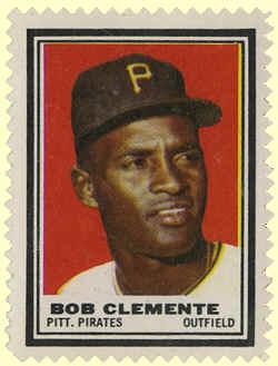 1962 Topps Stamps Insert Checklist