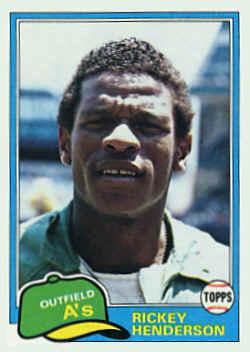 1981 Topps Baseball Cards