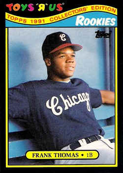 1991 Toysrus Rookies Baseball Card Checklist