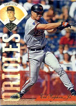1995 Leaf Cal Ripken�card number 134