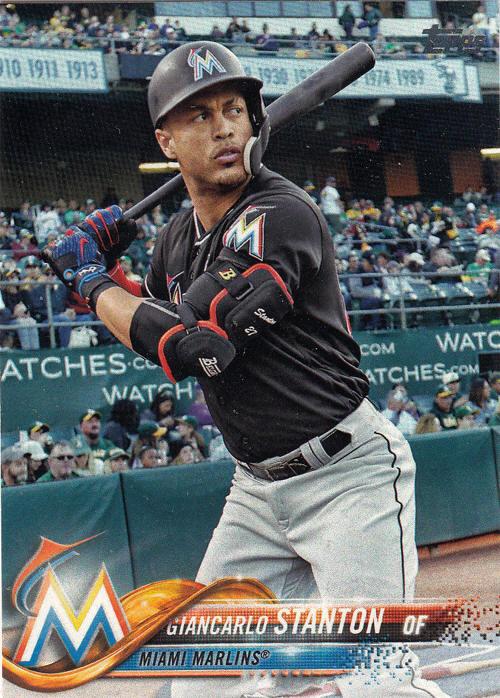 2018 Topps Baseball Cards