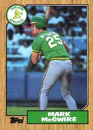 1987 Topps Baseball Cards