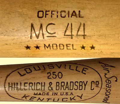 hillerich and bradsby bat dating Over the years, hillerich and bradsby co has filled needs in countless ways during both world war i and ii, the company produced equipment for the armed forces – while also making baseball and softball bats for the troops in the 1970s, the wood bat business evolved, branching out into aluminum bats – which remains a major part of.