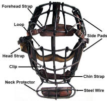 Parts of a Catchers Mask