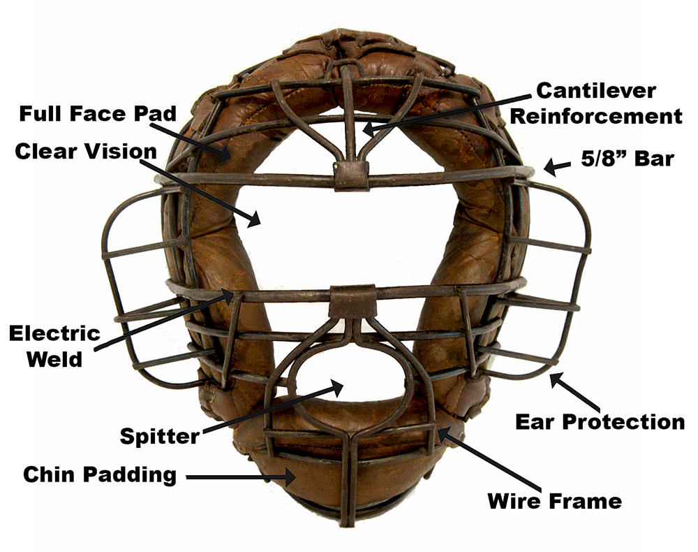 1930-1939 Catchers Mask Dating Guide