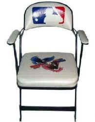 Vintage Baseball Memorabilia Yankee Stadium Chair