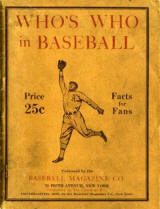 1912 Who's Who in Baseball