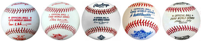 Official World Series Baseballs