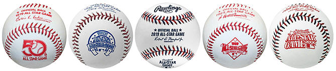 Official All Star Game Baseballs