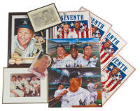 20 piece Mickey Mantle Autograph Collection Lot #538