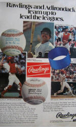 1977 Rawlings Basebal Ad