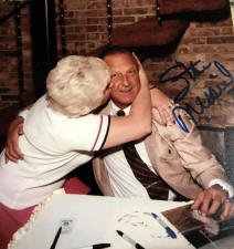 Wanda Marcus with Stan musial