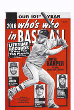 2016 Who's Who in Baseball Last Issue