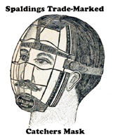 Spalding's Trade-Marked Catcher's Mask