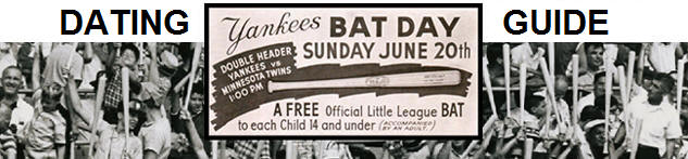 Yankees Bat Day Dating Guide