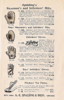 1897 Spalding Baseball Gloves