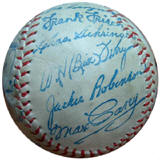 1960s Hall Of Fame Souvenir Baseball