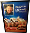Ted Williams J.J.Nissen Bread Advertising Poster