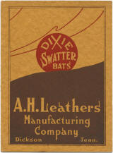 A.H. Leathers Manufacturing Company Catalog