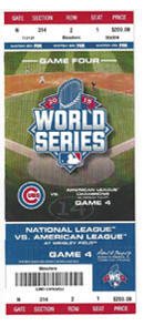 World Series Phantom Ticket