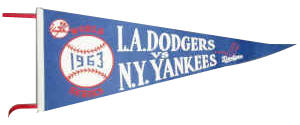 World Series Souvenir Pennant