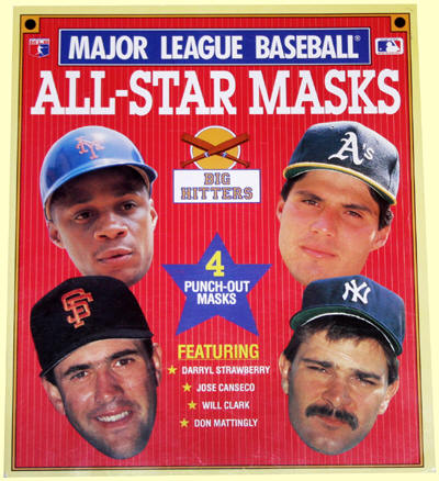 Major League Baseball All-Star Masks