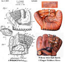 1947 Patent & Wilson 3 Finger Ball Hawk 1622