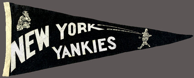 New York Yankies Pennant