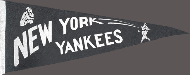 New York Yankees Pennant corrected