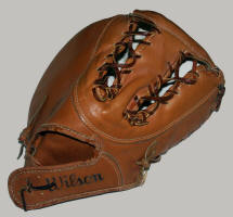 Before & After Baseball Glove Cleaning & conditioning back