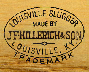 louisville slugger bats dating Antique hillerich & bradsby bats net54baseball there are collectors who favor the louisville slugger over all others and will pay a good premium for them--but i.