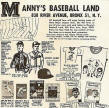 Mickey Mantle Magazine Manny's Baseball World ad