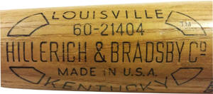 1970's Montgomery Ward - Wards bat label