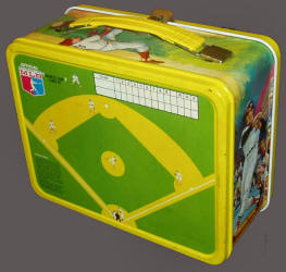 1968 MLBPA Magnetic Game Lunch Kit