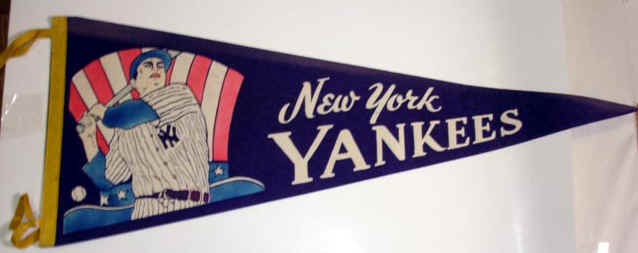 Vintage Baseball Pennant 7
