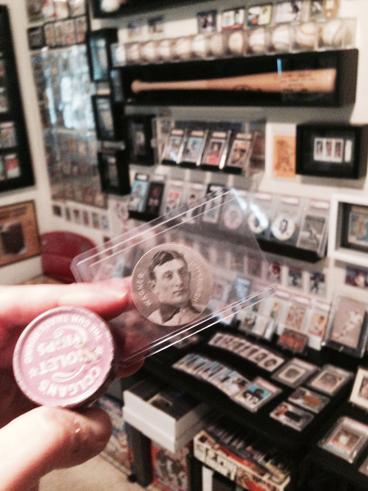 Baseball Collectibles Sports Card Room