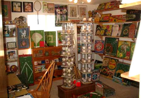 Vintage Games Collectors Showcase Display Room