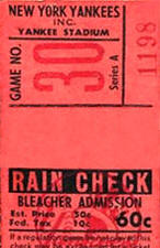Rain check meaning dating sim