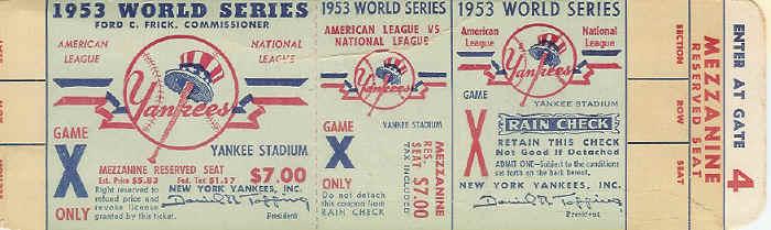 ticket sheet