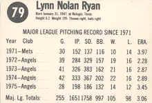 1976 Hostess Baseball Card Checklist