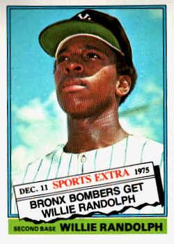 1976 Topps Traded Baseball Cards
