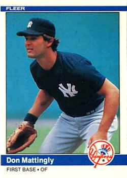 1984 Fleer Baseball Cards