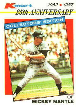 1987 K Mart Baseball Card Checklist