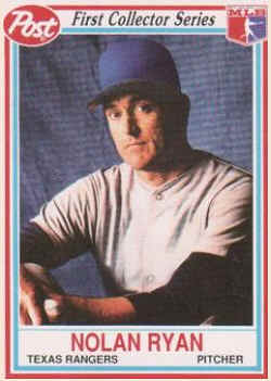 1990 Post Baseball Cards Checklist