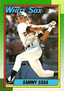 1990 Topps Baseball Cards