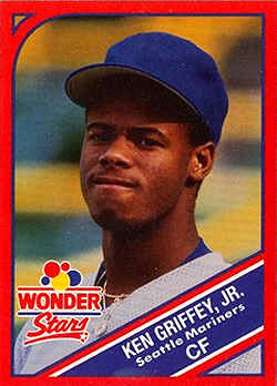 1990 Wonder Bread Stars Baseball Cards