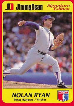 1991 Jimmy Dean Rookies Baseball Card Checklist